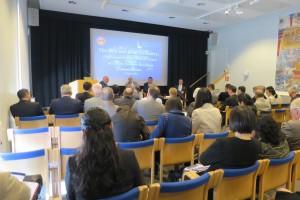 一带一路战略研讨会在斯德哥尔摩召开