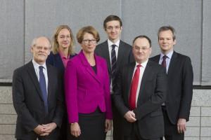 Gruppbild på Riksbankens direktionsmedlemmar 2015