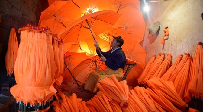 安徽:一把油伞的非遗传承