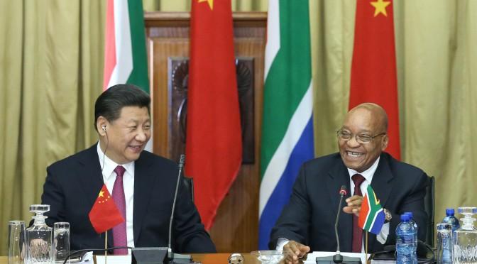 图片新闻:习近平与南非总统祖玛