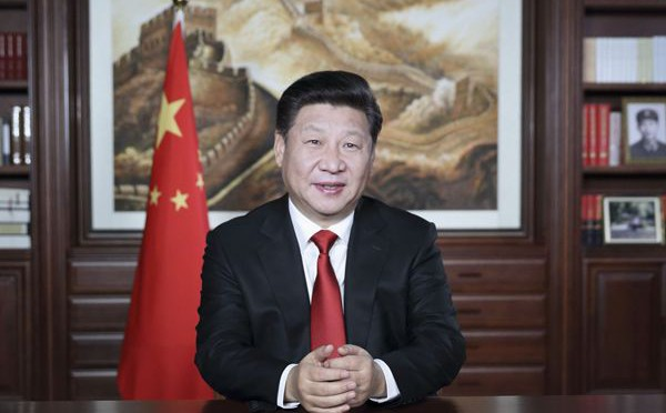 President Xi's greetings in the New Year 2016