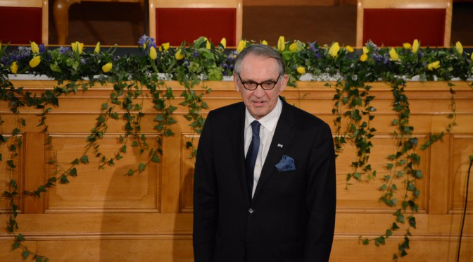 Photo news: 2015 Stockholm Peace Talk held in parliament