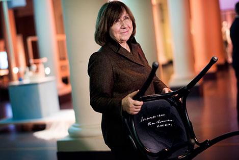 En ledsen ju stark tal av Svetlana Alexievich