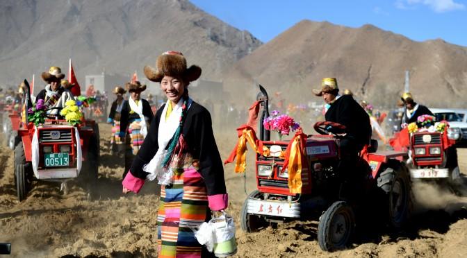 图片新闻:西藏开始春耕