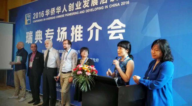 第十六届华创会瑞典专场推介会在武汉成功举办