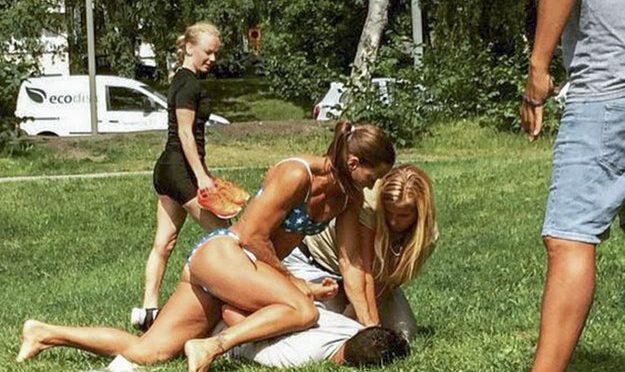 特稿:瑞典女警察穿比基尼制服小偷