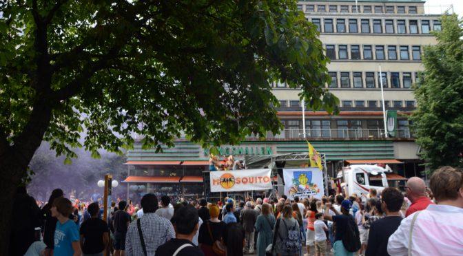 瑞典同性恋大游行今天开始