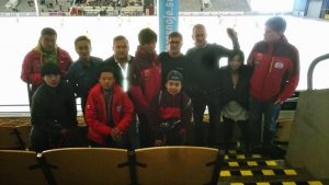 China group in ABB Arena