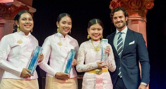 Top story: Thai girl students win 2016 Stockholm Junior Water Prize