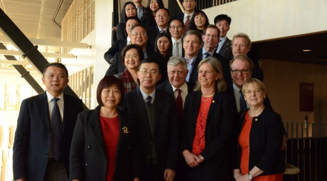 深圳市政府科技代表团访问卡罗林斯卡医学院