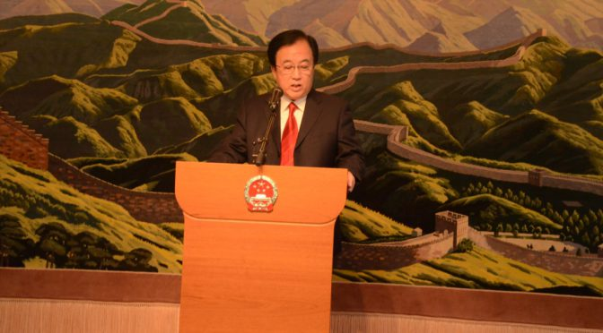 Ambassador Chen Yuming Talks about China and the World in Figures