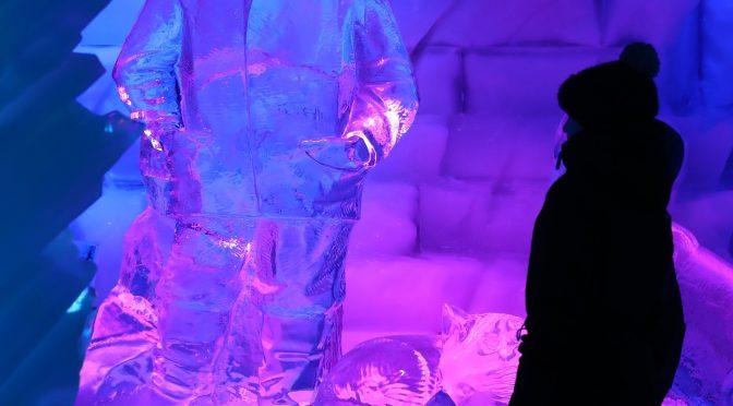 图片新闻:冰的魔术