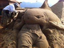 Zhoushan International Sand Sculpture Festival Opens