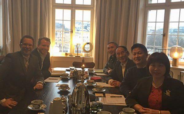 今日头条:瑞中企业家协会举办瑞典侨界与深圳代表团座谈会