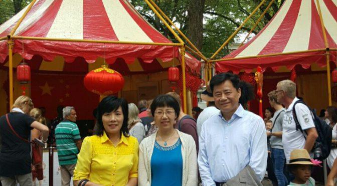 国际使馆节在海牙隆重举行 中华文化耀眼夺目