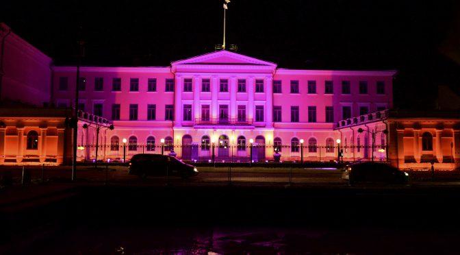图片新闻:赫尔辛基灯光节