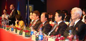 斯洛伐克国会经济委员会副主席孔多斯也在开幕式上发言