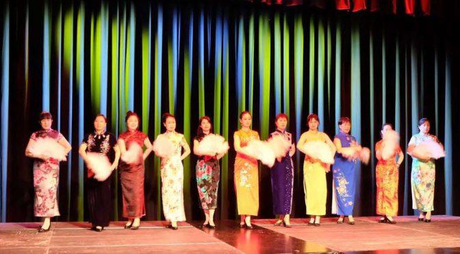 挪威华人华侨旗袍秀《女人花》尽显风采