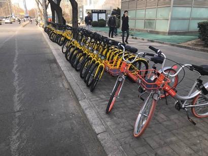 共享自行车在中国迎来爆发式增长