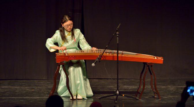 视频:2017北欧之春国际和平文化节古筝表演