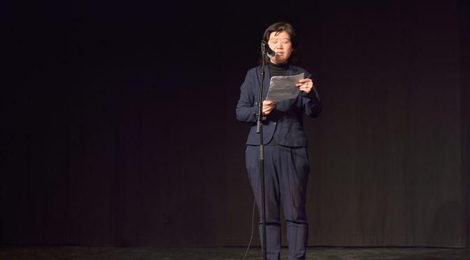 视频: 2017北欧之春国际和平文化节陈雪霏朗诵迪伦的歌词