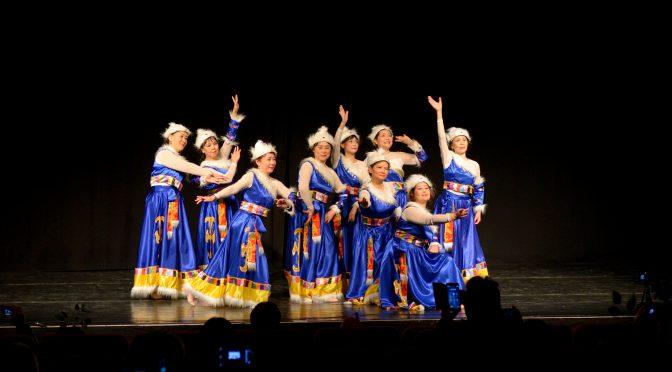 视频:北欧之春国际和平文化节舞蹈《高原蓝》
