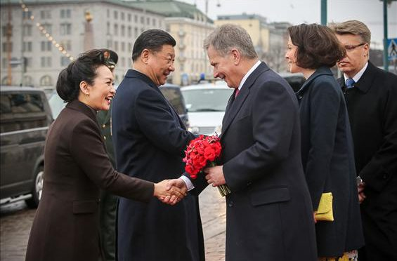 Arrival Statement by H.E. Xi Jinping President of the People's Republic of China  at Helsinki-Vantaa Airport, Finland