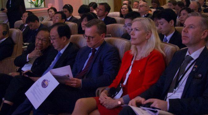 综述:第二届中瑞绿色经济合作大会在斯德哥尔摩成功举办