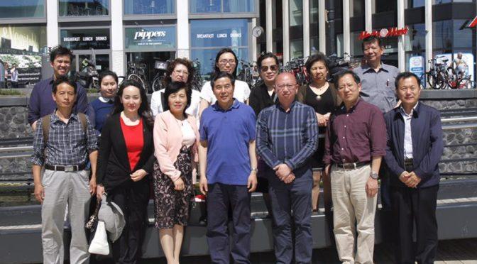 山东省外事侨务办代表团访荷兰