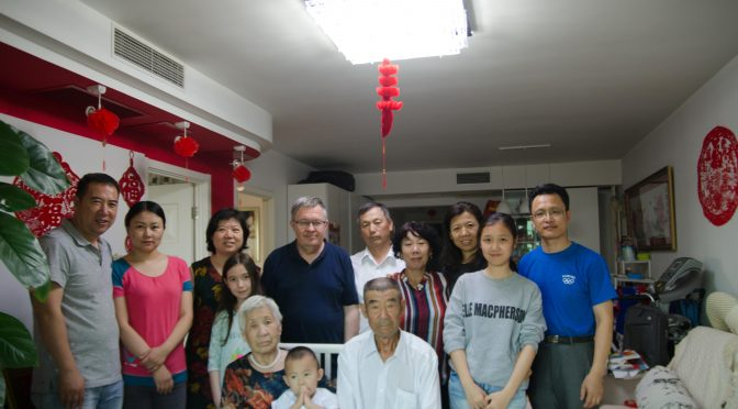 2. Visiting my parents in Beijing