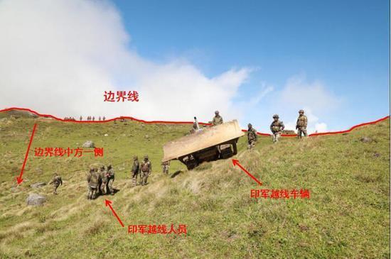原标题:外交部公布印度边防部队在中印边界锡金段越界进入中国领土的事实和中国的立场
