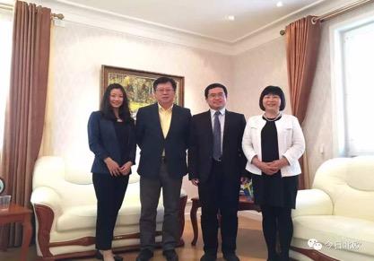 资讯:深圳市驻欧洲首席代表周旭先生莅临瑞中企业家协会指导工作