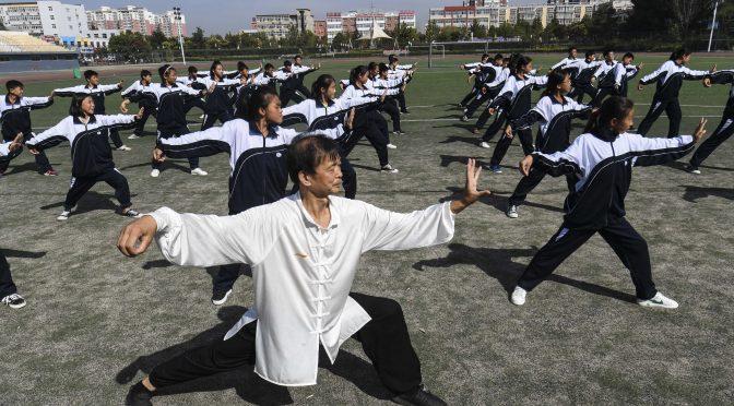 (体育)武术——河北大城:传统非遗太极文化进校园