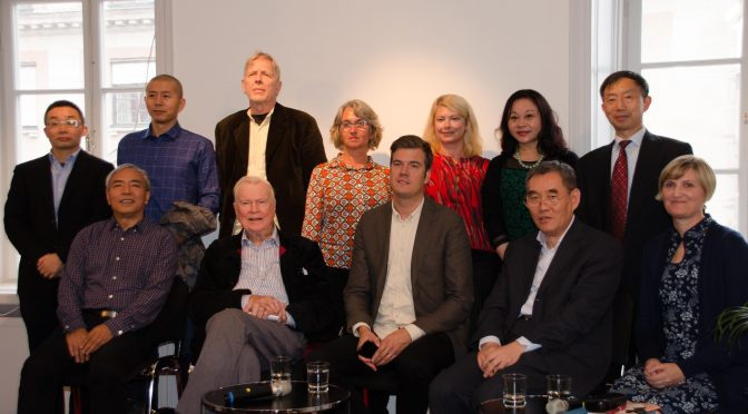Chinese and Swedish Literary Forum held in Stockholm
