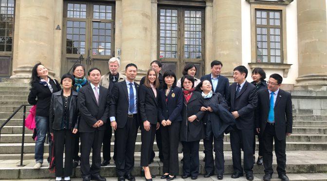 中国医疗健康考察团拜访斯德哥尔摩省副省长