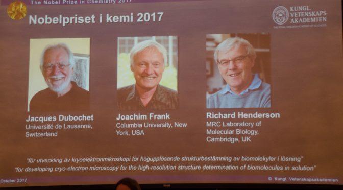 今日头条:瑞士美国英国三位科学家获得2017年诺贝尔化学奖