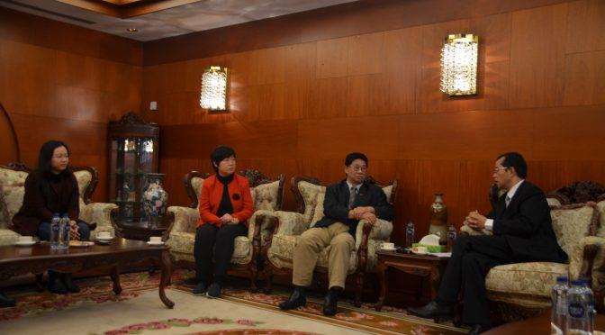 中国驻瑞典大使桂从友重申中国政治解决朝核问题的立场