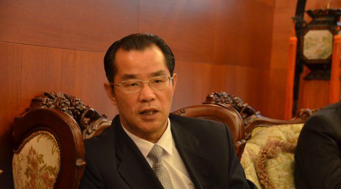 中国驻瑞典大使桂从友期待19大胜利召开