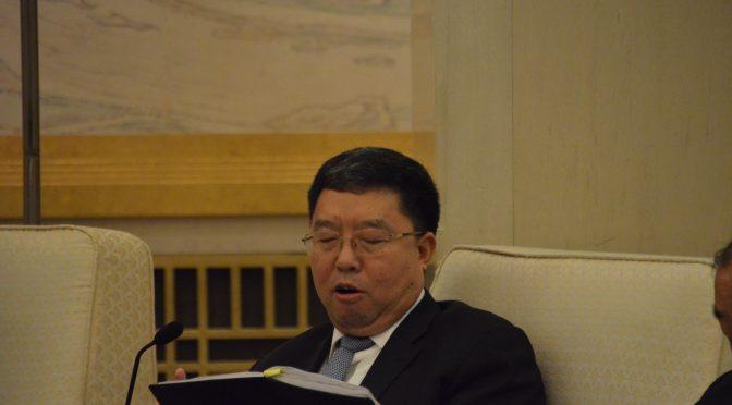 19大视频1:陕西省代表团谈扶贫攻坚 娄勤俭书记谈污染治理