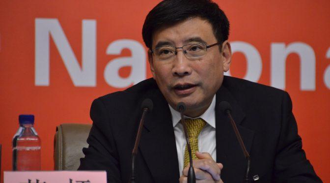 19大视频5:工信部党组副书记部长苗圩谈18大以来工信业成就