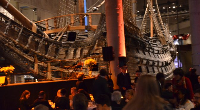 Swedish Chinese TV: 2017 Right Livelihood Prize issued in Vasa Museum