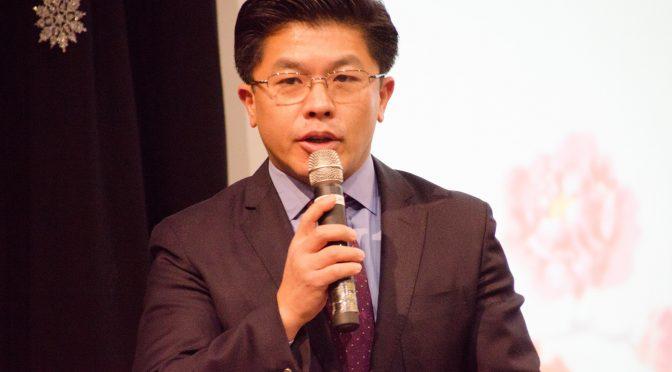 视频:瑞青中文学校董事长叶沛群在瑞青中文学校10周年校庆上的讲话