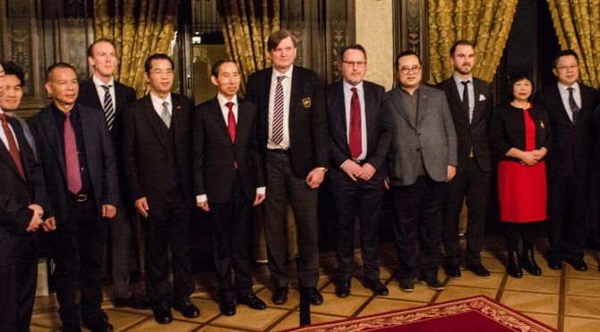 Video: Sweden-China Cultural Economic Sports Summit Forum held in Stockholm