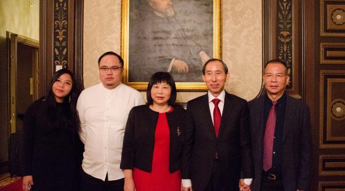 Long Yuxiang Meets SCEA President Zhang Qiaozhen in Stockholm