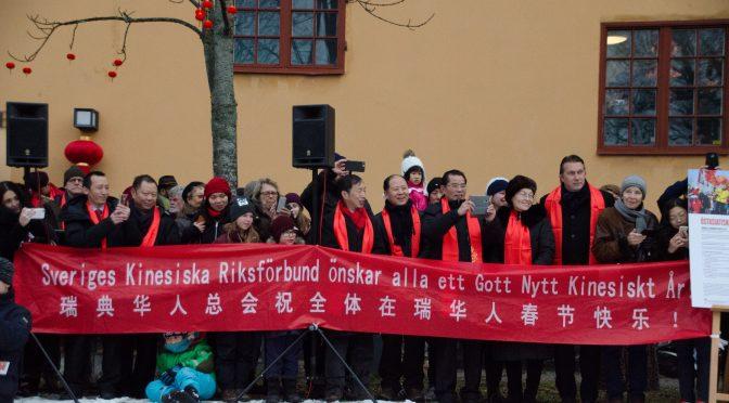 """中国驻瑞典大使桂从友出席斯德哥尔摩狗年""""欢乐春节""""庆祝活动"""