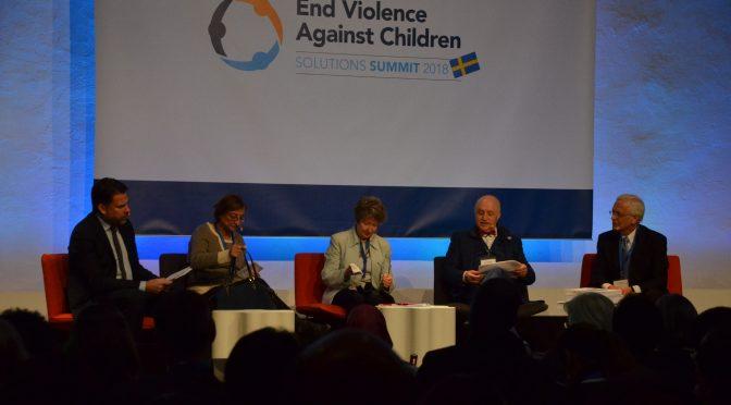 今日头条:终止对儿童施暴-2018求解峰会在斯德哥尔摩举行