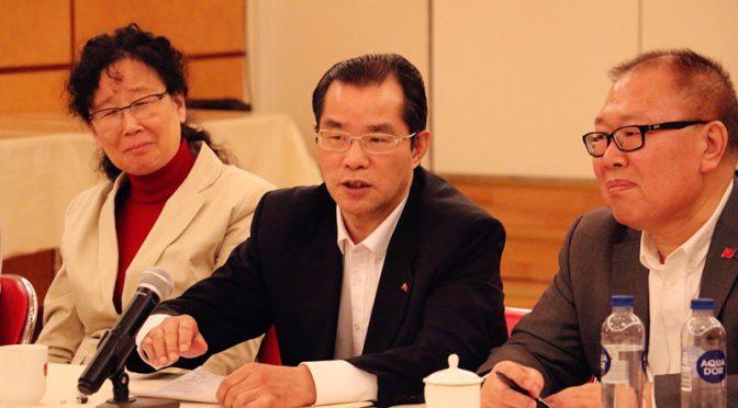 桂从友大使出席学习习总书记给莫斯科大学中国留学生回信座谈会