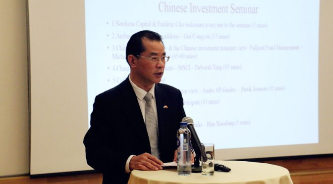 桂从友大使说中瑞创新绿色高端制造合作前景广阔