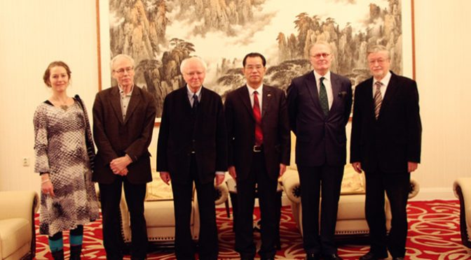 今日头条:桂从友大使与瑞典汉学家共度新春佳节