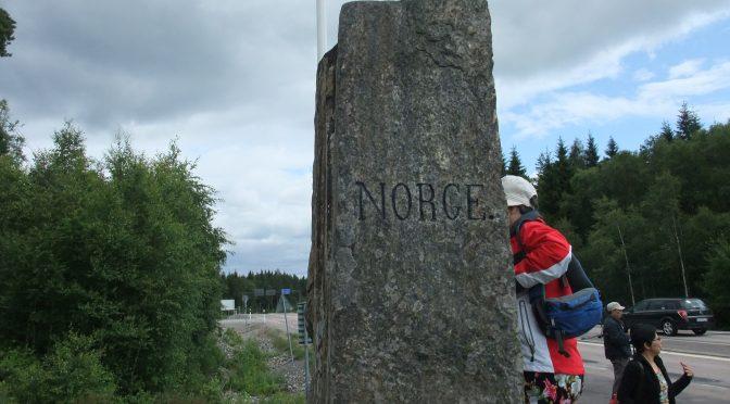图片新闻:瑞典和挪威边界一脚踏两国是什么感觉?